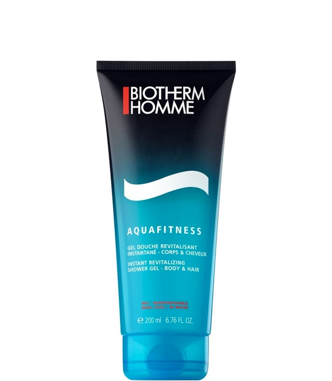 Biotherm Aquafitness Shower Gel - Body & Hair, 200 ml.