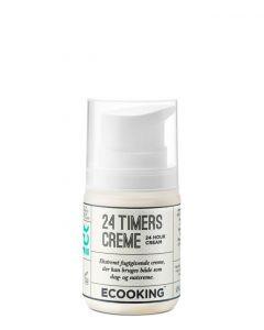Ecooking 24-timers creme, 50 ml.
