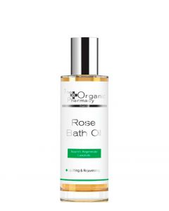The Organic Pharmacy Rose Bath Oil, 100 ml.