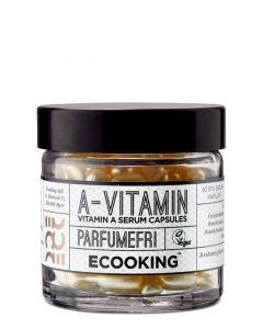 Ecooking A-vitamin Serum-kapsler, 60 stk.