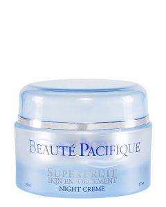 Beauté Pacifique Superfruit Night Creme - Alle hudtyper, 50 ml.