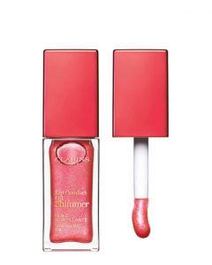 Clarins Lip Oil Shimmer 04 Flashy pink