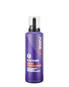 Fudge Clean Blonde Violet Xpander Foam, 200 ml.