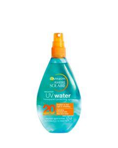 Garnier Ambre Solaire UV Water Transparent Protection Spray SPF20, 150 ml.