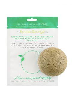 The Konjac Sponge Facial Puff Konjac Sponge Green Tea