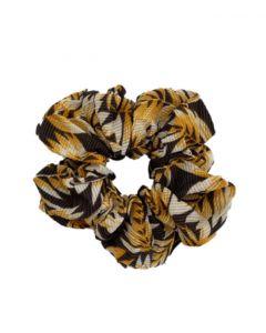 JA•NI hair Accessories - Hair Scrunchie, The Yellow Leafs