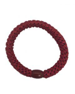 JA•NI Hair Accessories - Hair elastics, The Red Glitter