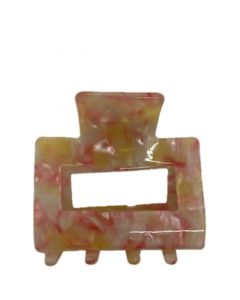 JA•NI Hair Accessories - Hair Clamps Sofia, The Baby Pink Marble