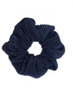 JA•NI Hair Accessories - Hair Scrunchies, The Navy Ripped
