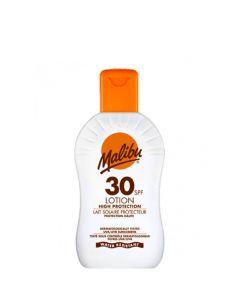Malibu Protective Sun Lotion SPF30, 200 ml.