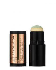 Makeup Revolution Cushion Corrector - Green 2,8 g