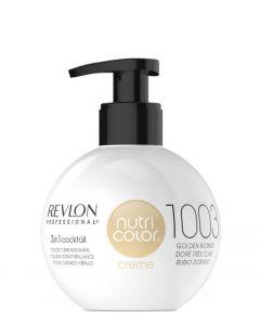 Revlon Nutri Color Creme 1003 Pale Gold, 270 ml.