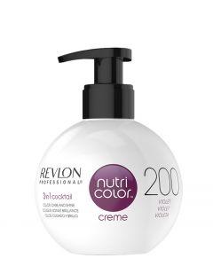 Revlon Nutri Color Creme 200 Burgundy, 270 ml.
