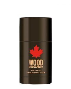 Dsquared2 Wood Men Deodorant Stick, 75 ml.