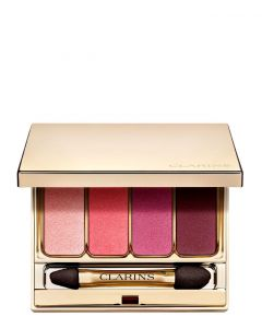 Clarins 4-Colour Eyeshadow Palette 07 Lovely rose, 7 ml.