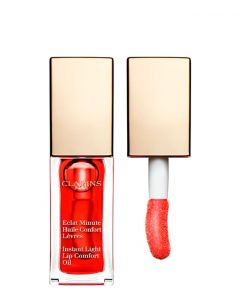Clarins Instant Comfort Lip Oil 03 Red Berry, 7 ml.