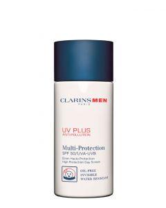 Clarins Clarins Men UV Plus Anti-Pollution All skin types, 50 ml.