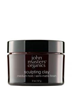 John Masters Organic Sculpting Clay Medium Hold, 60 g.