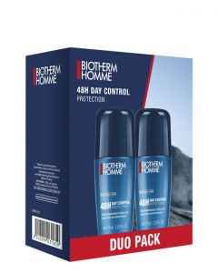 Biotherm Homme Day Control 48H Roll on Duo Pack, 2x 75 ml.