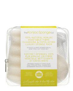 The Konjac Sponge, Rejsesæt med Pure White - duo