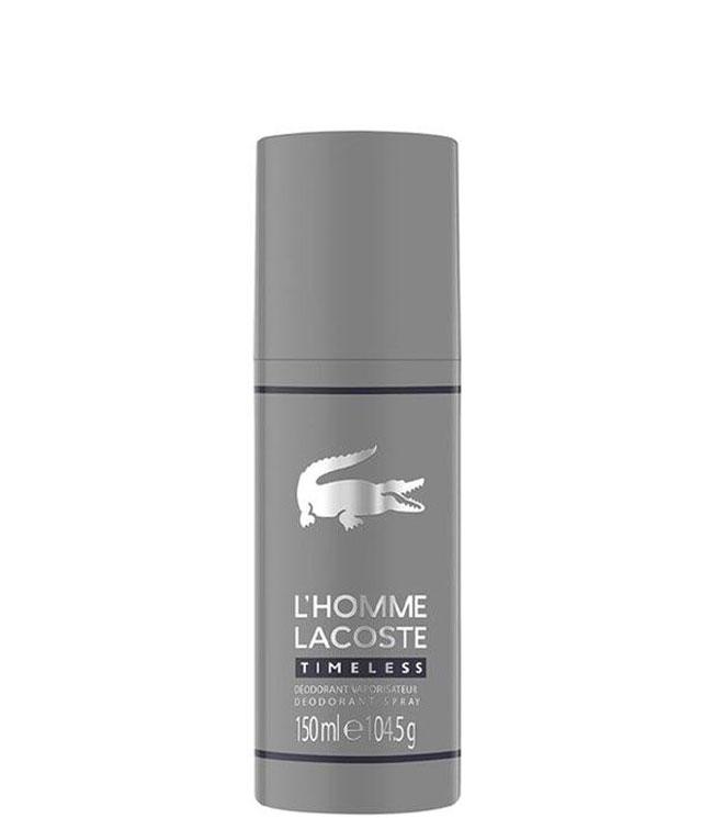 Lacoste L´Homme Timeless Deodorant spray, 150 ml.