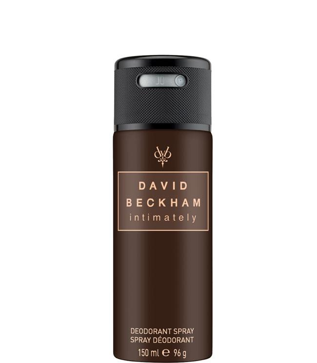 David Beckham Intimately Male Deodorant spray, 150 ml.