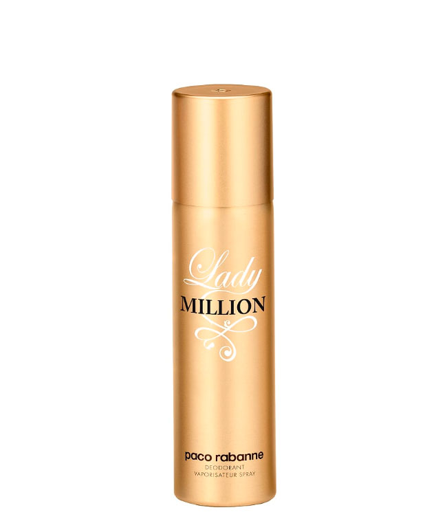 Paco Rabanne Lady Million Deodorant Spray, 150 ml.